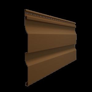 Сайдинг Корабельный брус (D4,5D) (ПРАЛИНЕ)